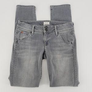 Hudson Skinny Gray denim jeans women's size 25